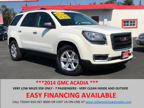 2014 GMC Acadia for sale at Redwood City Auto Sales in Redwood City CA