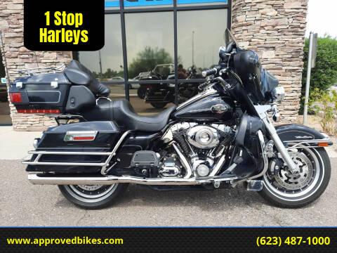 2008 Harley-Davidson Ultra Classic FLHTCU for sale at 1 Stop Harleys in Peoria AZ