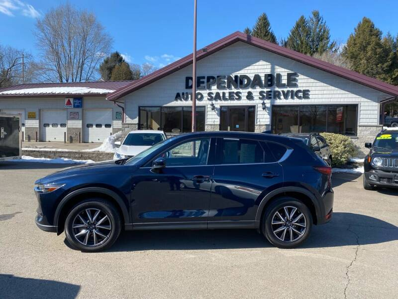 2017 Mazda CX-5 for sale at Dependable Auto Sales and Service in Binghamton NY