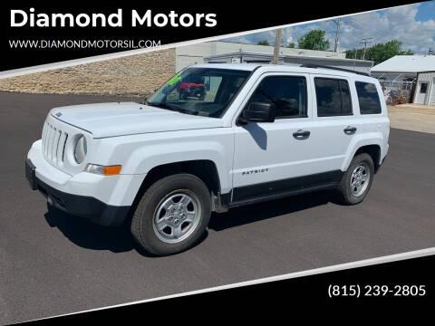 2016 Jeep Patriot for sale at Diamond Motors in Pecatonica IL