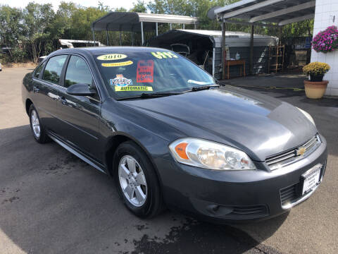 2010 Chevrolet Impala for sale at Freeborn Motors in Lafayette OR