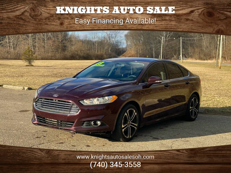 2013 Ford Fusion for sale at Knights Auto Sale in Newark OH