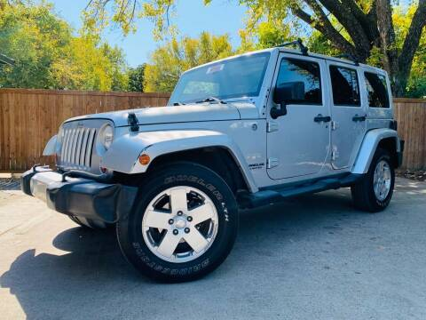 2012 Jeep Wrangler Unlimited for sale at DFW Auto Provider in Haltom City TX
