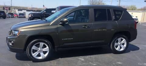 2015 Jeep Compass for sale at G L TUCKER AUTO SALES in Joplin MO
