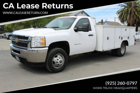 2011 Chevrolet Silverado 3500HD CC for sale at CA Lease Returns in Livermore CA