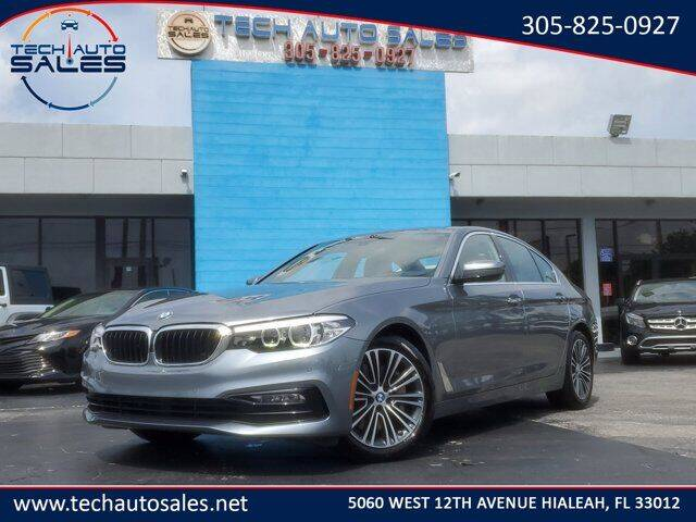 2017 BMW 5 Series for sale at Tech Auto Sales in Hialeah FL