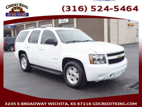 2009 Chevrolet Tahoe for sale at Credit King Auto Sales in Wichita KS
