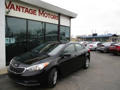 2016 Kia Forte for sale at Vantage Motors LLC in Raytown MO