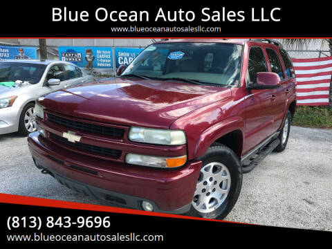 2005 Chevrolet Tahoe for sale at Blue Ocean Auto Sales LLC in Tampa FL