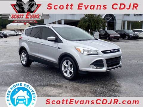 2015 Ford Escape for sale at SCOTT EVANS CHRYSLER DODGE in Carrollton GA