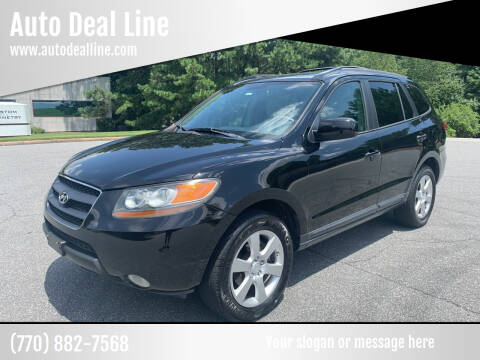 2007 Hyundai Santa Fe for sale at Auto Deal Line in Alpharetta GA