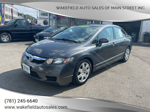 2010 Honda Civic for sale at Wakefield Auto Sales of Main Street Inc. in Wakefield MA