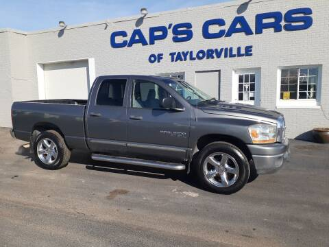 2006 Dodge Ram Pickup 1500 for sale at Caps Cars Of Taylorville in Taylorville IL