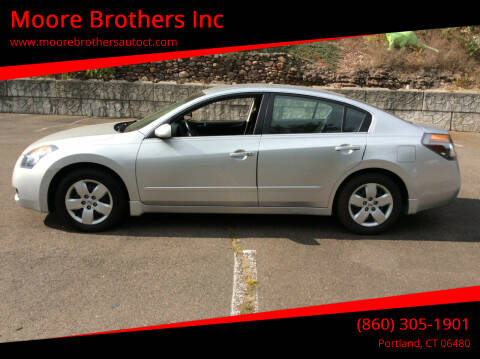 2008 Nissan Altima for sale at Moore Brothers Inc in Portland CT
