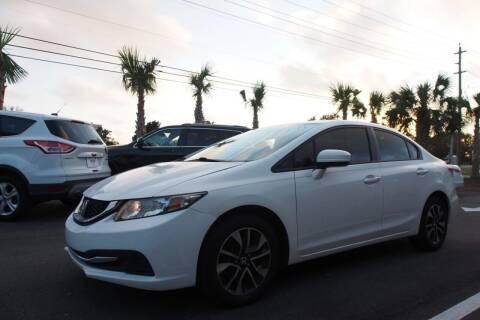 2014 Honda Civic for sale at Gulf Financial Solutions Inc DBA GFS Autos in Panama City Beach FL