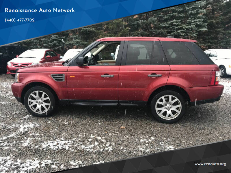 2008 Land Rover Range Rover Sport for sale at Renaissance Auto Network in Warrensville Heights OH