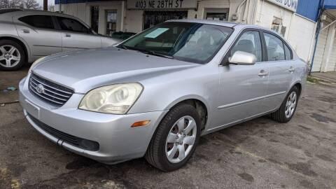 2008 Kia Optima for sale at Dave-O Motor Co. in Haltom City TX