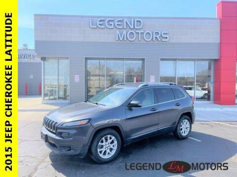 2015 Jeep Cherokee for sale at Legend Motors of Detroit - Legend Motors of Waterford in Waterford MI