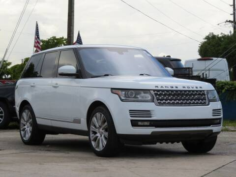 2014 Land Rover Range Rover for sale at DK Auto Sales in Hollywood FL