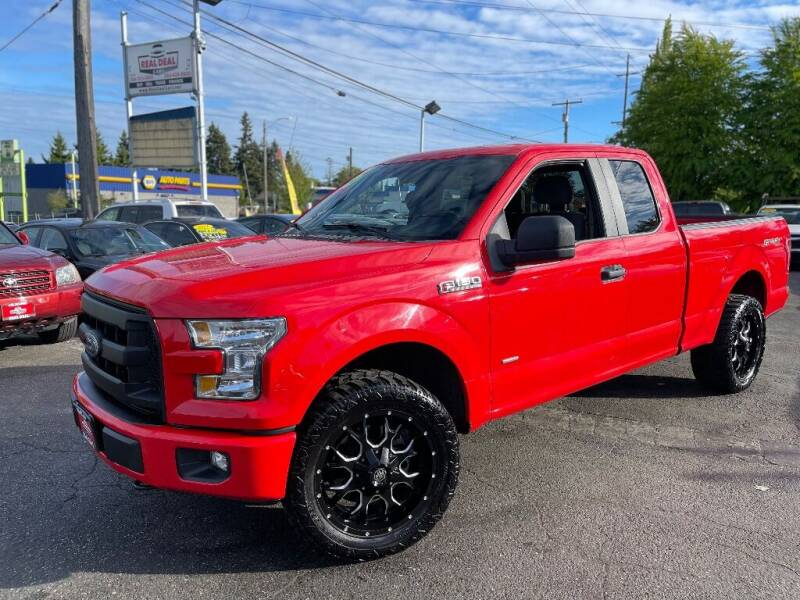 2015 Ford F-150 for sale at Real Deal Cars in Everett WA