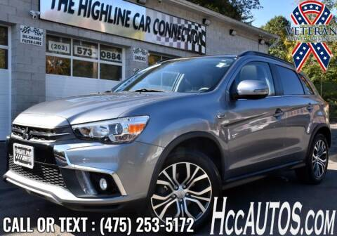 2018 Mitsubishi Outlander Sport for sale at The Highline Car Connection in Waterbury CT