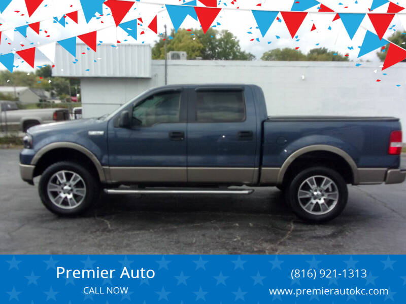 2005 Ford F-150 for sale at Premier Auto in Independence MO