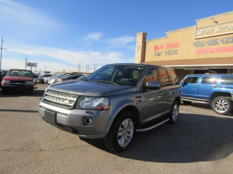 2014 Land Rover LR2 for sale at Import Motors in Bethany OK