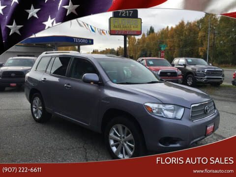 2008 Toyota Highlander Hybrid for sale at FLORIS AUTO SALES in Anchorage AK