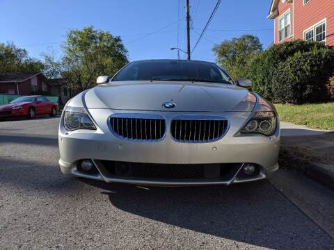 2006 BMW 6 Series for sale at Music City Rides in Nashville TN