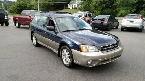 2004 Subaru Outback for sale at DISCOUNT AUTO SALES in Johnson City TN