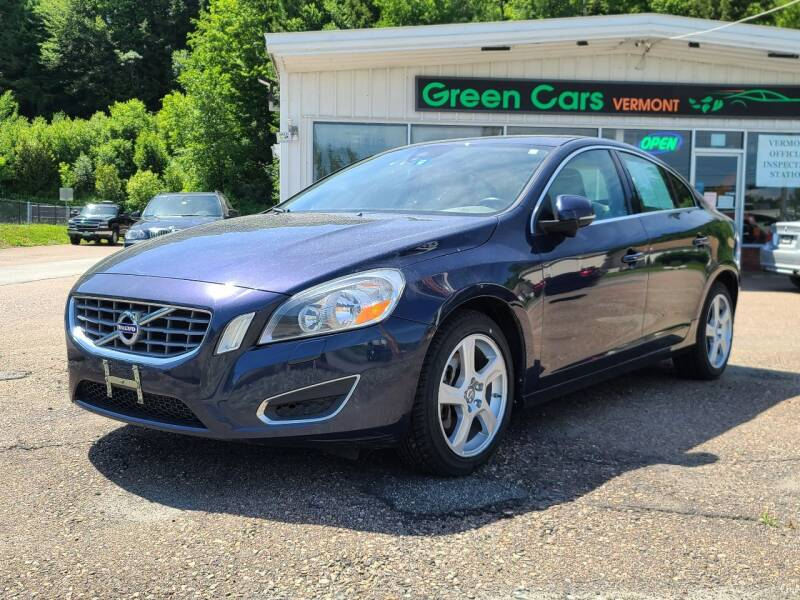 2013 Volvo S60 for sale at Green Cars Vermont in Montpelier VT