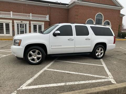 2008 Chevrolet Suburban for sale at Clarks Auto Sales in Connersville IN
