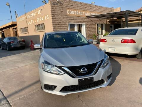 2017 Nissan Sentra for sale at CONTRACT AUTOMOTIVE in Las Vegas NV