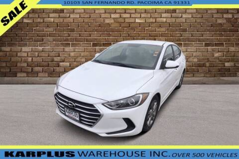 2017 Hyundai Elantra for sale at Karplus Warehouse in Pacoima CA