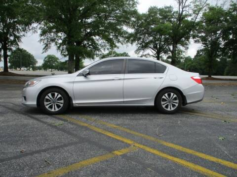 2014 Honda Accord for sale at A & P Automotive in Montgomery AL
