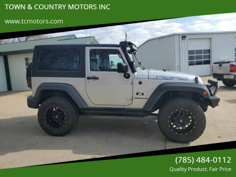 2009 Jeep Wrangler for sale at TOWN & COUNTRY MOTORS INC in Meriden KS