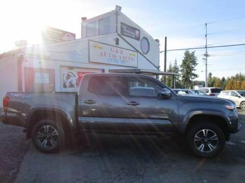 2016 Toyota Tacoma for sale at G&R Auto Sales in Lynnwood WA
