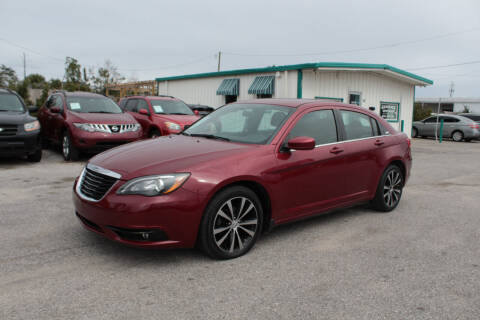 2014 Chrysler 200 for sale at Jamrock Auto Sales of Panama City in Panama City FL