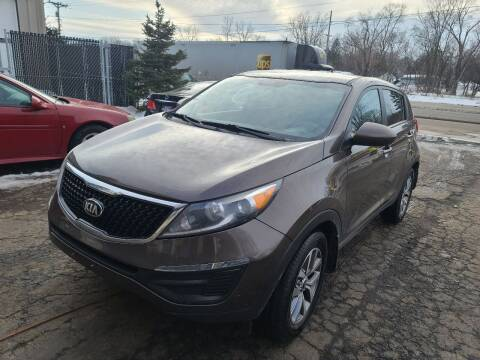 2014 Kia Sportage for sale at Steve's Auto Sales in Madison WI