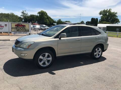 2004 Lexus RX 330 for sale at Cordova Motors in Lawrence KS