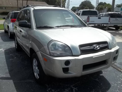 2008 Hyundai Tucson for sale at PJ's Auto World Inc in Clearwater FL