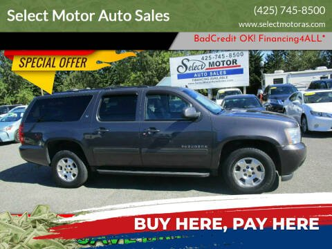 2011 Chevrolet Suburban for sale at Select Motor Auto Sales in Lynnwood WA