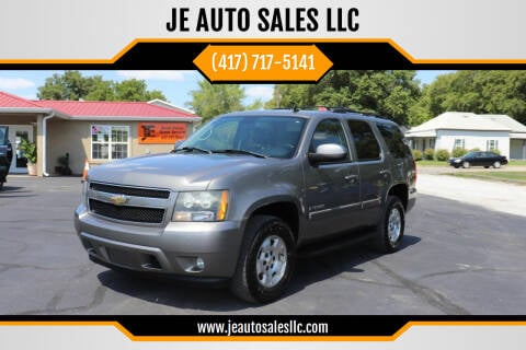 2007 Chevrolet Tahoe for sale at JE AUTO SALES LLC in Webb City MO