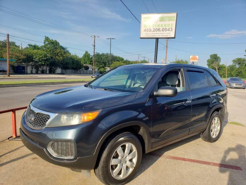 2011 Kia Sorento for sale at Shock Motors in Garland TX