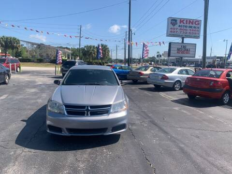 2013 Dodge Avenger for sale at King Auto Deals in Longwood FL