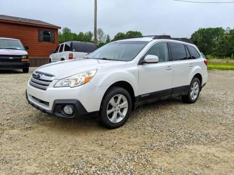 2013 Subaru Outback for sale at Delta Motors LLC in Jonesboro AR