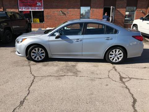 2016 Subaru Legacy for sale at Atlas Cars Inc. in Radcliff KY