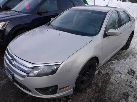 2010 Ford Fusion for sale at J & K Auto - J and K in Saint Bonifacius MN