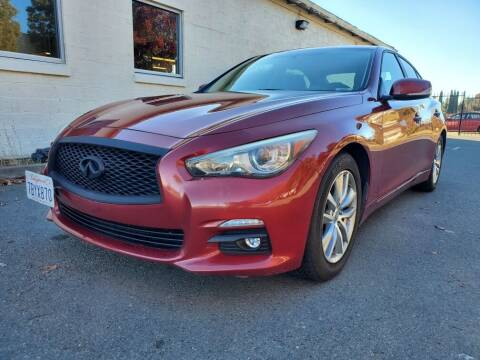 2014 Infiniti Q50 for sale at 707 Motors in Fairfield CA