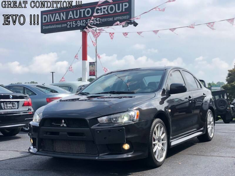 2011 Mitsubishi Lancer Evolution for sale at Divan Auto Group in Feasterville Trevose PA